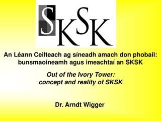 Dr. Arndt Wigger
