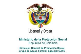 Ministerio de la Proteccion Social República de Colombia
