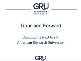 Transition Forward