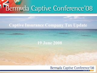 Captive Insurance Company Tax Update