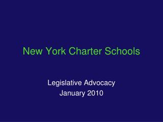 New York Charter Schools