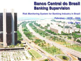 Banco Central do Brasil  Banking Supervision