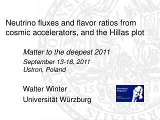 Neutrino fluxes and flavor ratios from cosmic accelerators, and the Hillas plot