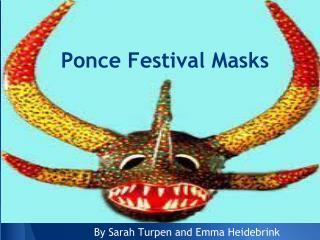 Ponce Festival Masks