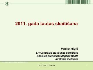 2011. gada tautas skaitīšana