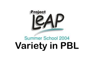 Summer School 2004