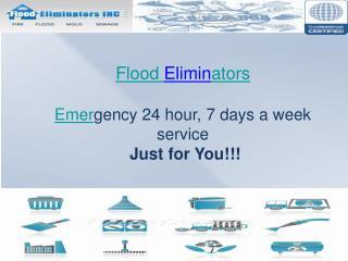 Flood Eliminators.Inc- holbrook ny water damage cleanup