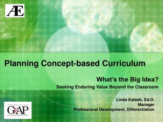 Planning Concept-based Curriculum