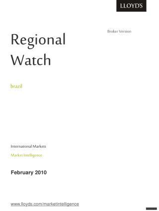 Regional         Watch   brazil