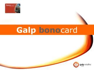 Galp bono card