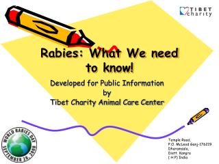 Rabies: What We need to know!