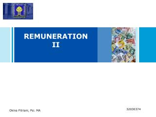 REMUNERATION II