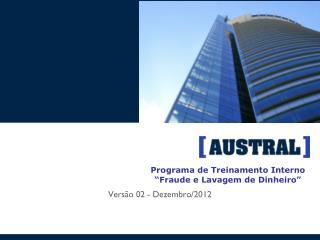 """Programa de Treinamento Interno """"Fraude e Lavagem de Dinheiro"""""""
