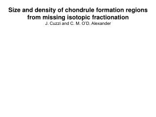 Size and density of chondrule formation regions from missing isotopic fractionation