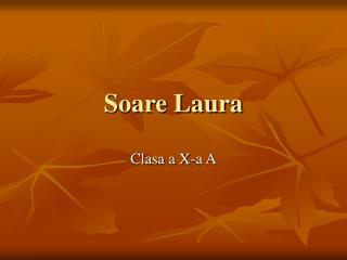 Soare Laura
