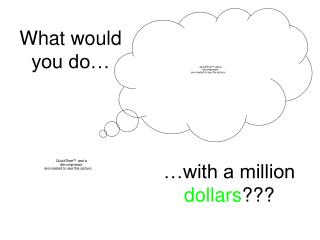 What would you do…