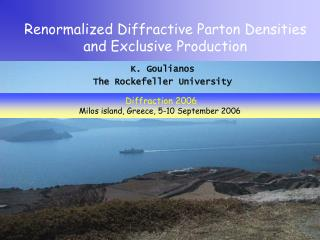 Renormalized Diffractive Parton Densities and Exclusive Production