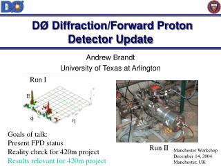 DØ Diffraction/Forward Proton Detector Update