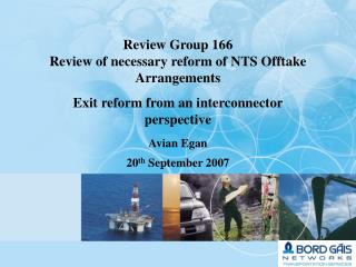 Exit reform from an interconnector perspective