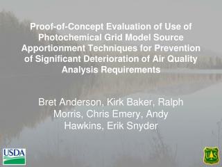 Bret  Anderson, Kirk Baker, Ralph Morris, Chris Emery, Andy Hawkins, Erik Snyder