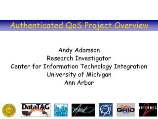 Authenticated QoS Project Overview