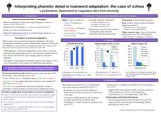 Interpreting phonetic detail in loanword adaptation: the case of schwa