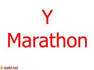 Y  Marathon