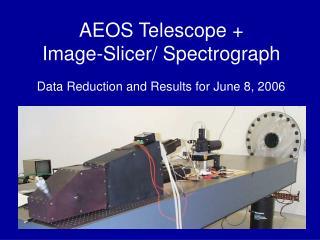 AEOS Telescope + Image-Slicer/ Spectrograph