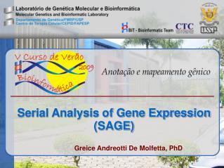 Serial Analysis of Gene Expression (SAGE)