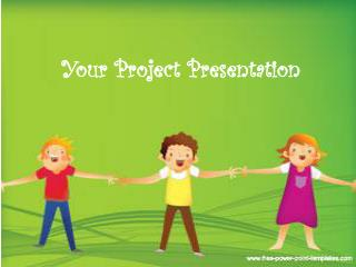 Your Project Presentation