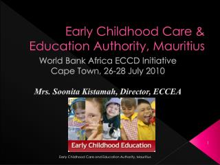 Early Childhood Care  Education Authority, Mauritius