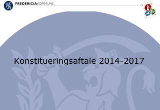 Konstitueringsaftale 2014-2017
