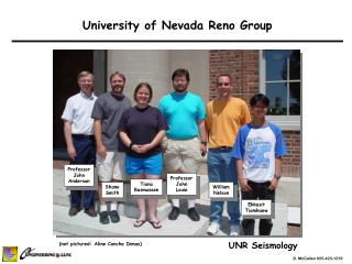 University of Nevada Reno Group