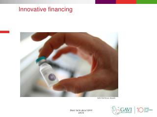 Innovative  financing