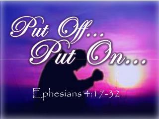 Put Off…