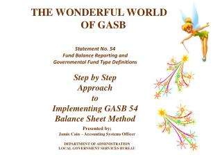 THE WONDERFUL WORLD                                OF GASB
