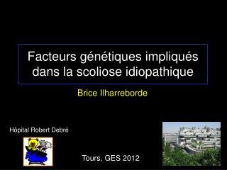 Facteurs génétiques impliqués dans la scoliose idiopathique