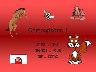 Comparisons 1