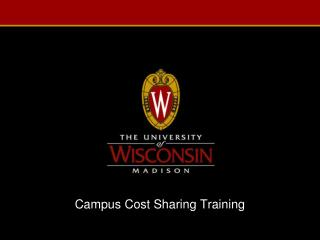 Campus Cost Sharing Training