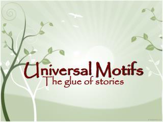 Universal Motifs