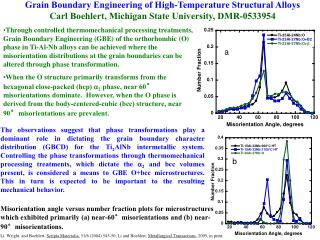 Grain Boundary Engineering of High-Temperature Structural Alloys