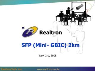 Realtron SFP (Mini- GBIC) 2km