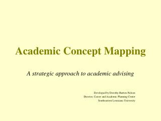 Academic Concept Mapping