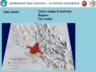 Workshop  aiig  giovani � le nuove geografie