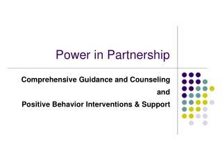 Power in Partnership