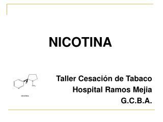 NICOTINA Taller Cesación de Tabaco Hospital Ramos Mejia G.C.B.A.