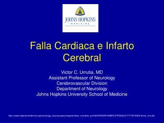 Falla Cardiaca e Infarto Cerebral