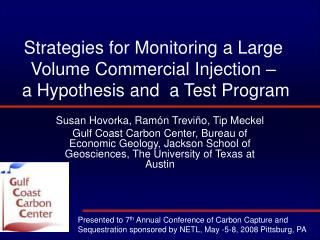 Strategies for Monitoring a Large Volume Commercial Injection –  a Hypothesis and  a Test Program