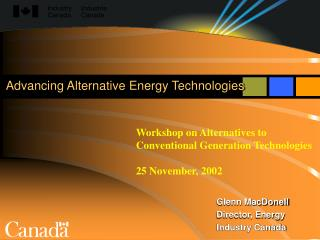 Advancing Alternative Energy Technologies