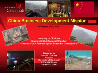 China Business Development Mission